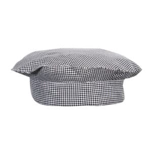 Chef hat-  Popular Black & White Check