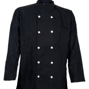 Chef Jacket: Classic Black