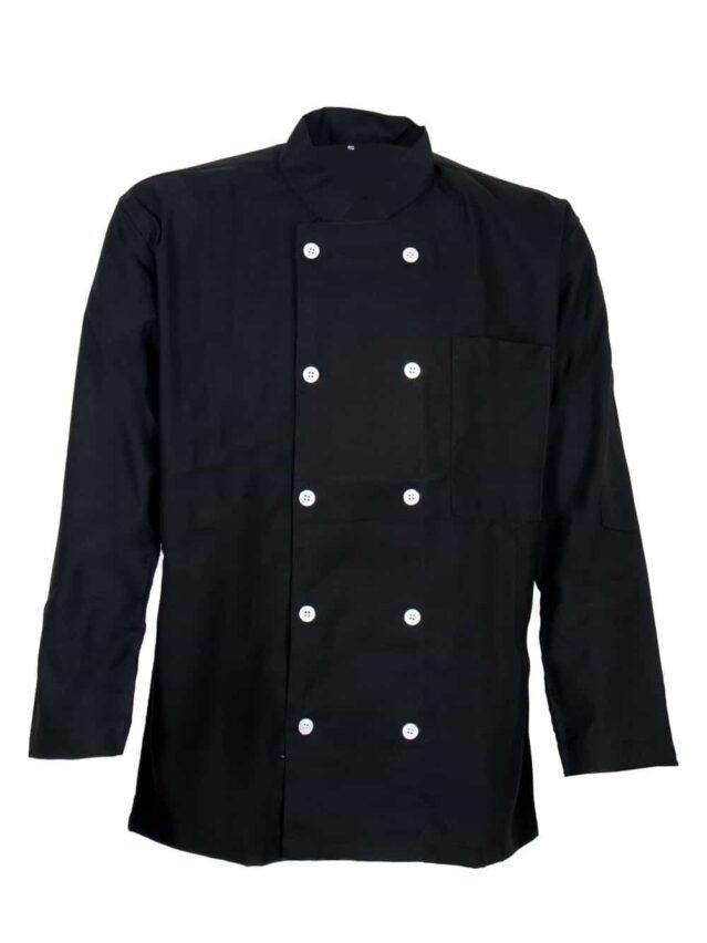 Classic Black Chef Jackets