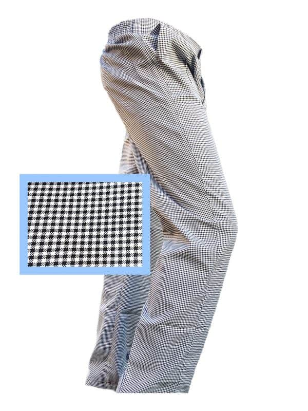 Black & white check pant