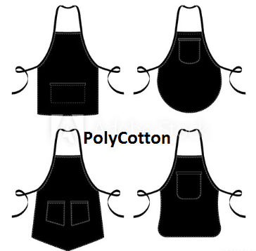 Why Chef Apparels are Made from Poly-Cotton Material?