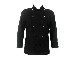 Black Chef Jacket (Long Sleeve)