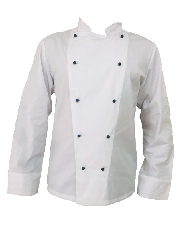 Chef Jacket White (Long Sleeve)