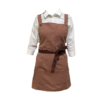 Brown Canvas Aprons